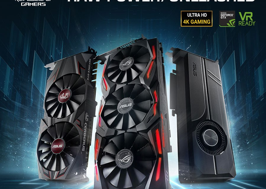 ASUS Announces GeForce GTX 1070 Ti Series Gaming Graphics Cards