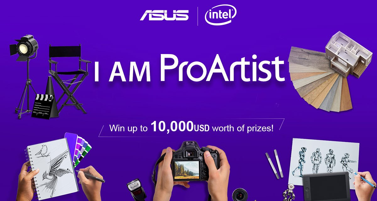 ASUS Announces I Am ProArtist Campaign