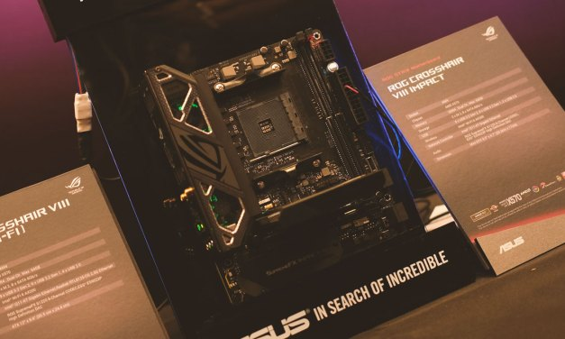 ASUS Goes Mini-DTX with the ROG Crosshair VIII Impact