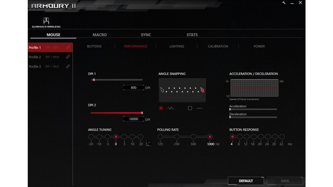 ASUS ROG Gladius II Wireless Benchmarks (2)