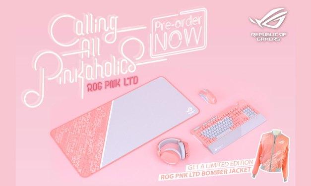 ASUS ROG Opens Pre-order for ROG Pink LTD Gears