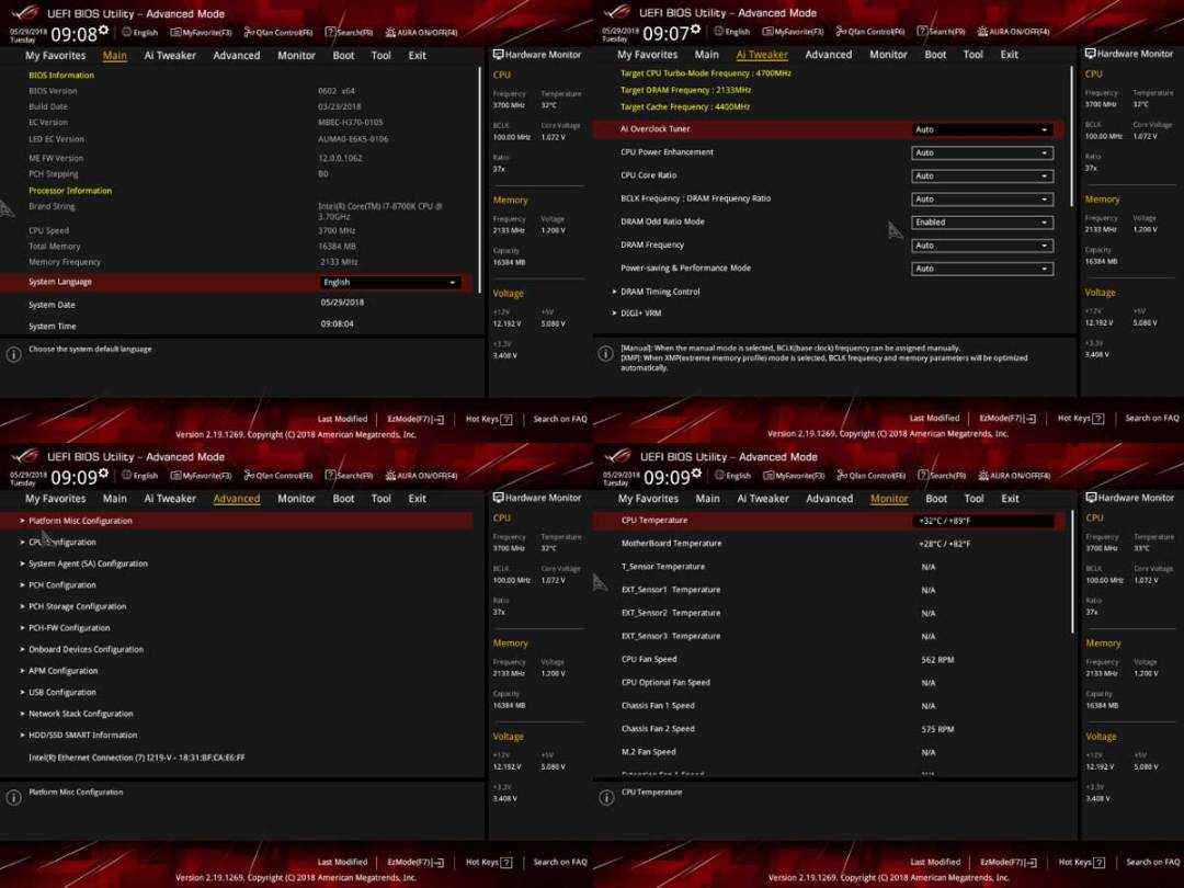 ASUS ROG Stirx B360-F Gaming Bios (1)