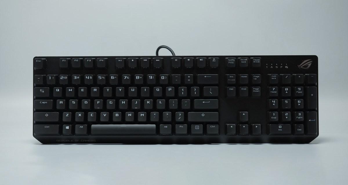 Review   ASUS ROG Strix Scope RGB Mechanical Gaming Keyboard