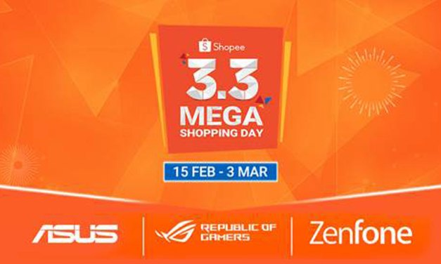 ASUS Joins Shopee 3.3 2019 Mega Shopping Sale