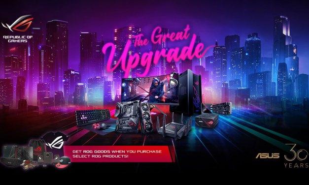 ASUS ROG Celebrates 30th Anniversary with Massive Upgrade Bundles