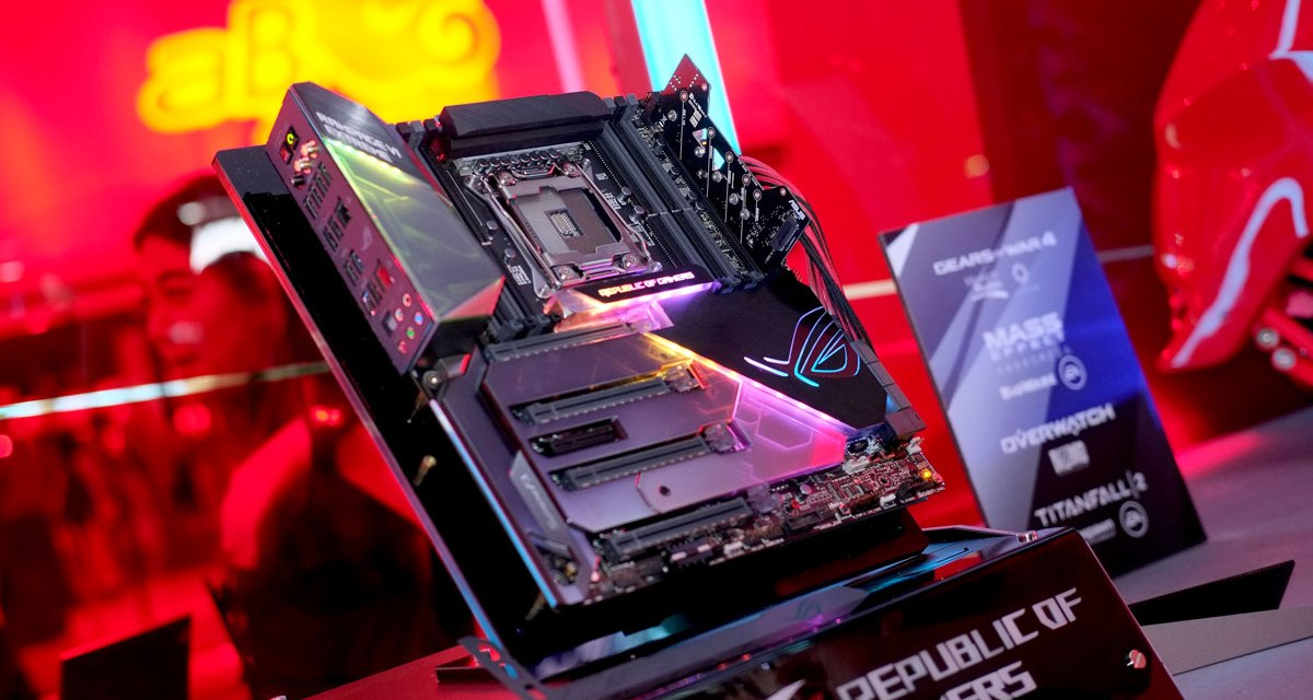 ASUS Shows Off X399 and X299 Motherboards at COMPUTEX