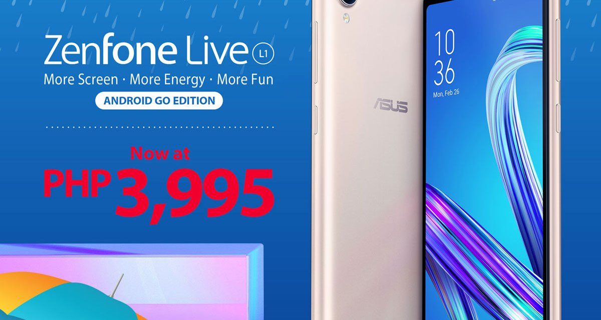 ASUS PH Pours In Rainy Season Savings with Updated ZenFone Prices