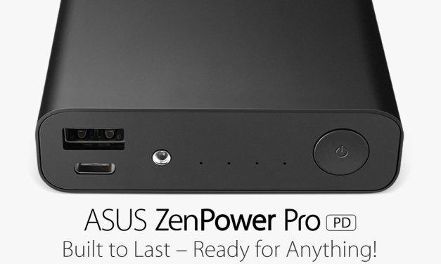 ASUS Releases ZenPower Pro (PD) Power Bank