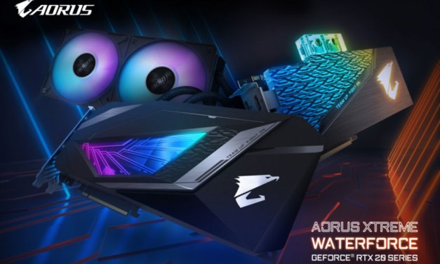 GIGABYTE Unveils AORUS XTREME WATERFORCE Series