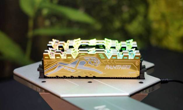 Apacer Shows off Panther Rage DDR4 RGB at COMPUTEX