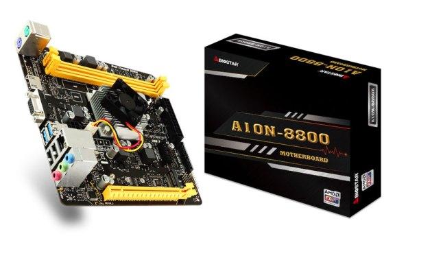 BIOSTAR Announces A10N-8800E SoC mini-ITX motherboard