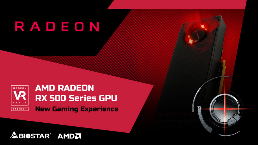 BIOSTAR Enters The Radeon Game With RX 500 Graphics