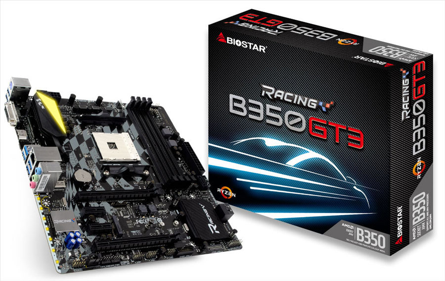 BIOSTAR Offers Affordable AMD RYZEN Micro-ATX Motherboards