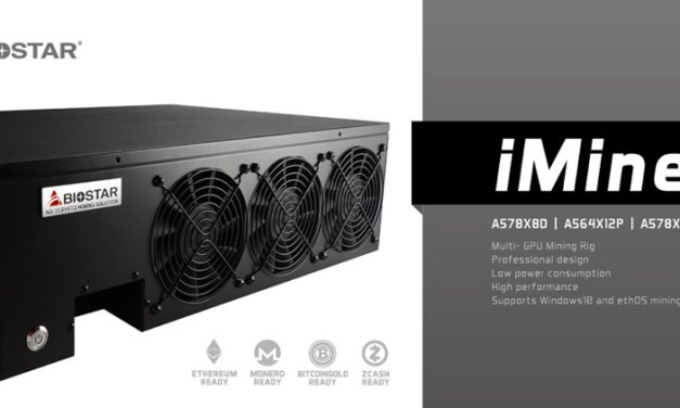 BIOSTAR Reveals The iMiner Series Cryptomining Solution