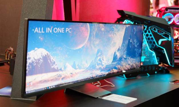 COLORFUL Showcases Onebot Ultrawide PC Concept