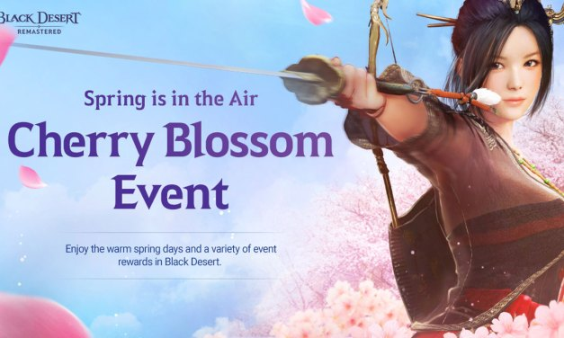 Cherry Blossom Event 2020 Arrives in Black Desert SEA