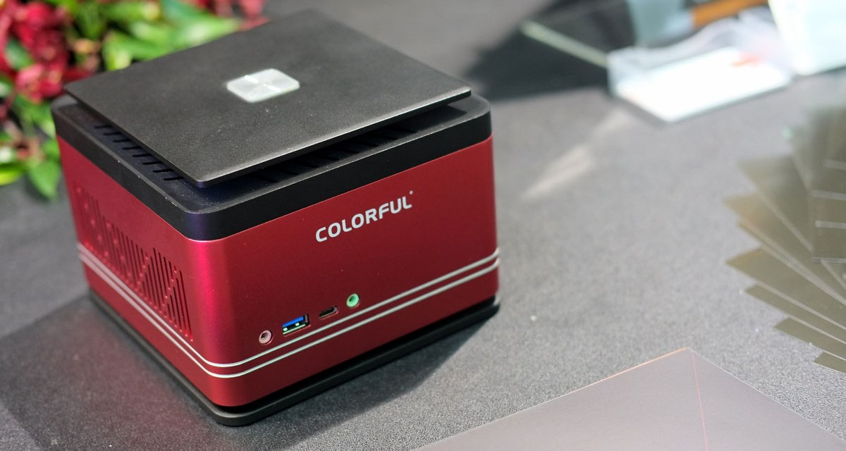 COLORFUL Launches Its First Mini PC at COMPUTEX 2017
