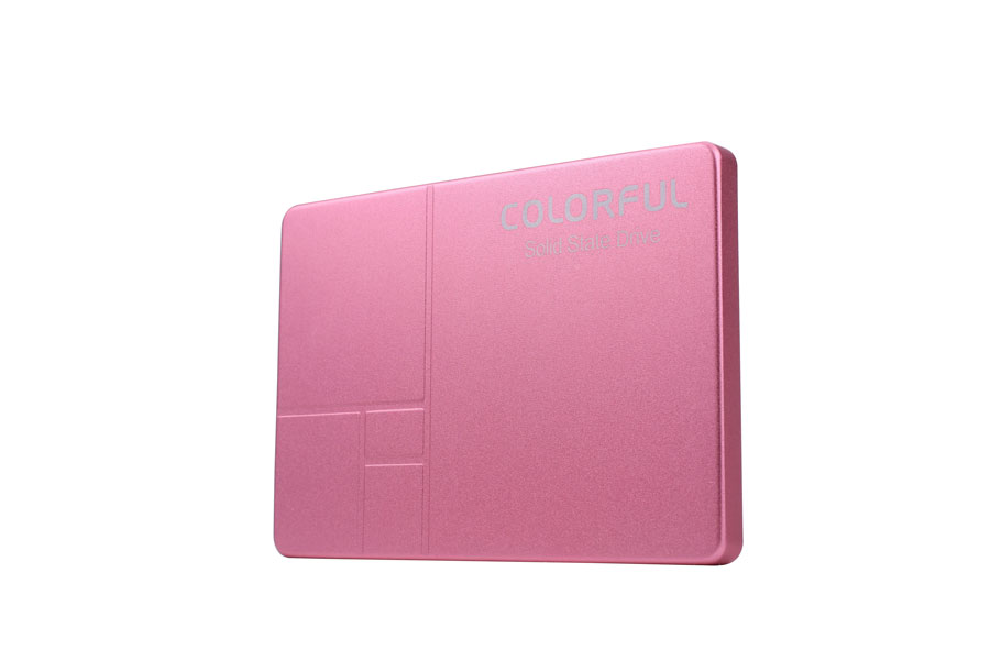 COLORFUL Announces Limited Edition Pink SSD