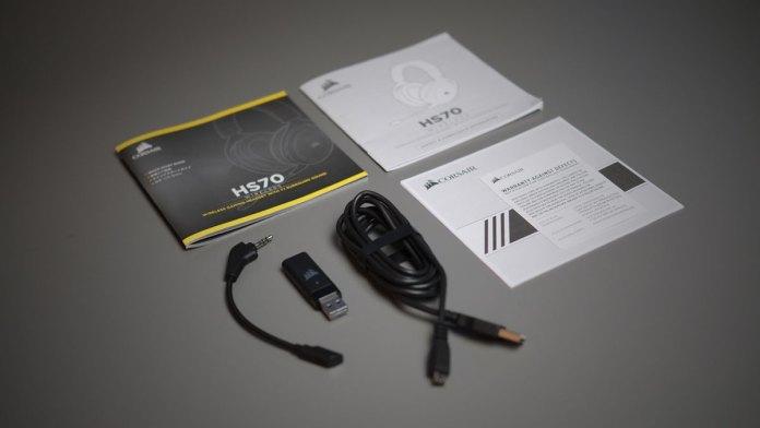 Corsair HS70 SE Wireless Gaming Headset (8)