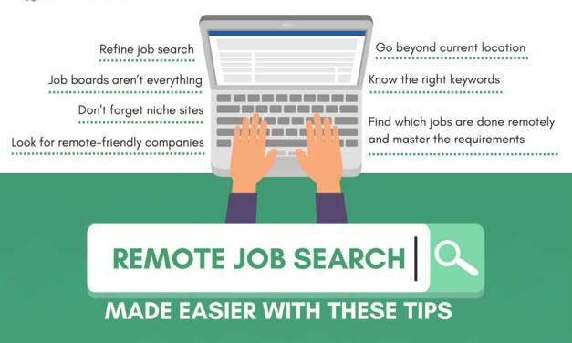 Remote Job Search Made Easier With These Tips