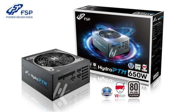 FSP Announces 80 PLUS Platinum Hydro PTM PSU Series