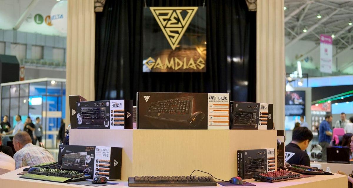 GAMDIAS Shows Off Greek God Power at COMPUTEX