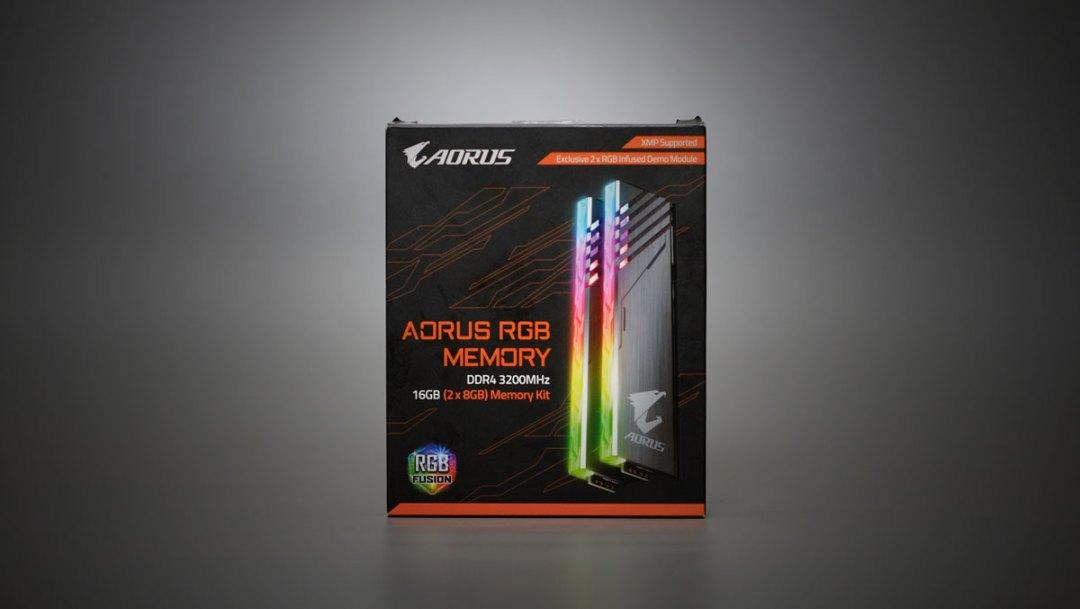 GIGABYTE AORUS RGB Memory (2)