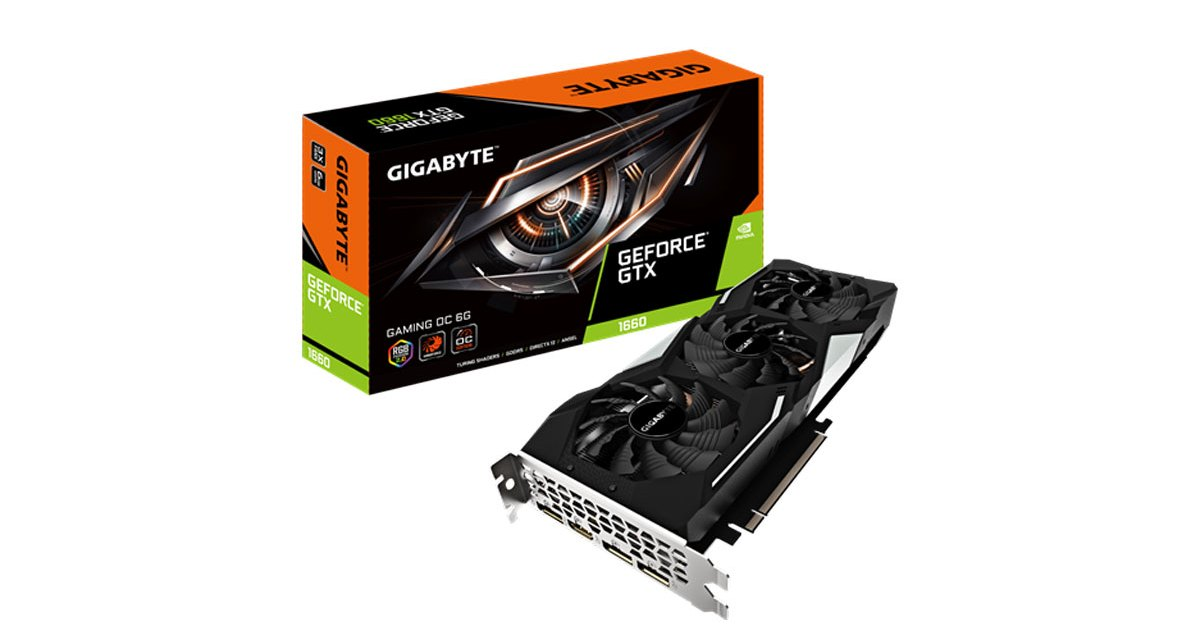 GIGABYTE AnnouncesGeForceGTX 1660Models