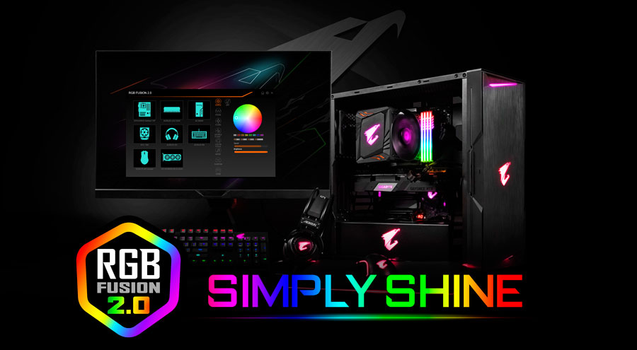 GIGABYTE Simplifies RGB Integration with RGB Fusion 2.0