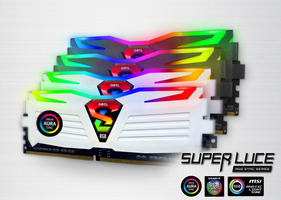 GeIL Extends Super Luce RGB SYNC Memory Compatibility | TechPorn