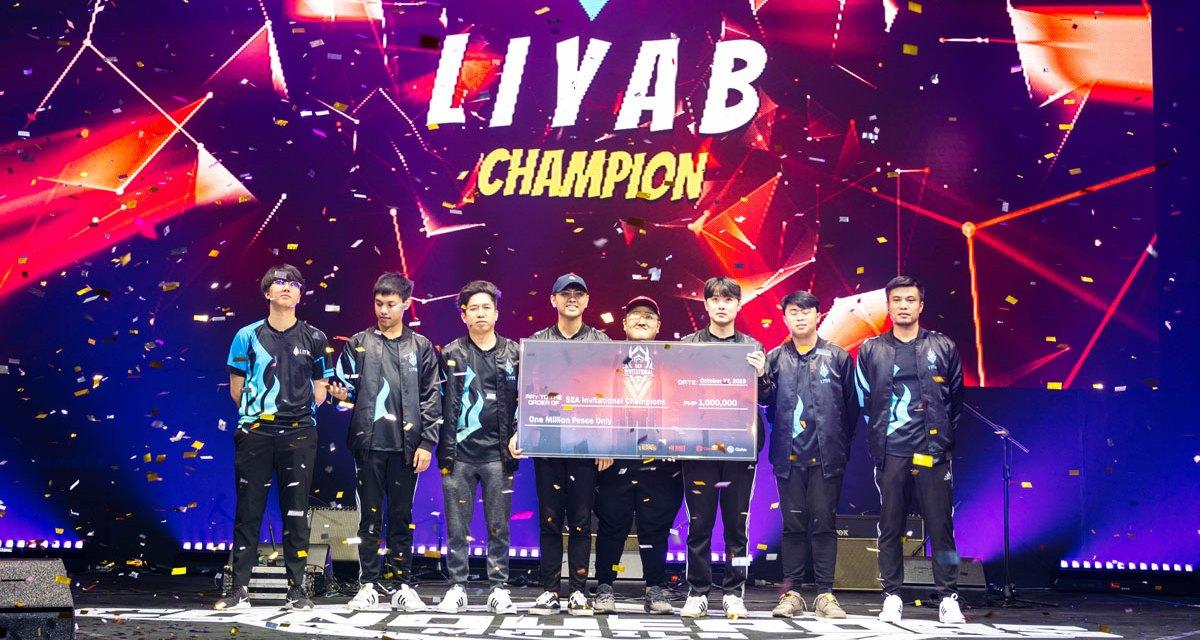 Globe Liyab Wins LoL SEA Tour Invitational 2019