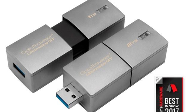 Kingston Finally Ships Out 1TB and 2TB USB Flash Drives