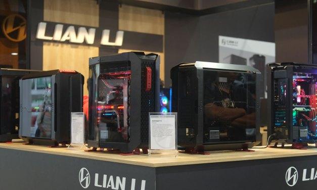 Lian Li Showcases Odyssey X Morphing Case