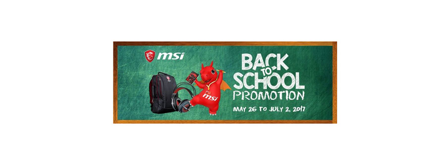 MSI Back To School, Back to the Battlefield Promo!