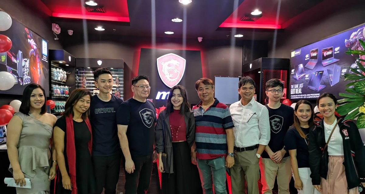 MSI Gaming Opens Concept Store at Clark Pampanga