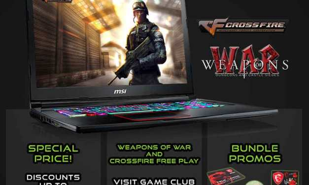 Experience MSI Gaming Laptops at Game Fest 2018