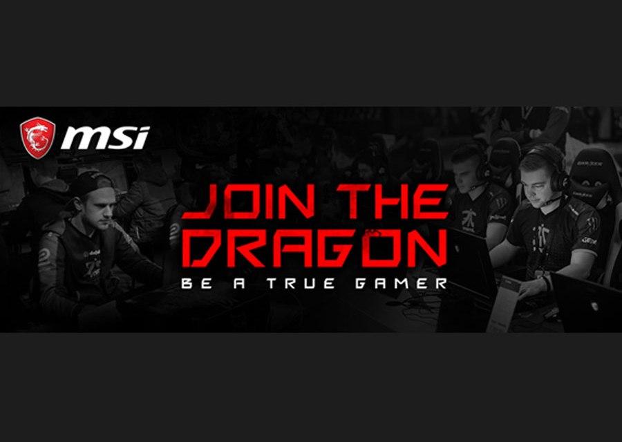 MSI Announces Gaming Team Sponsorship Program