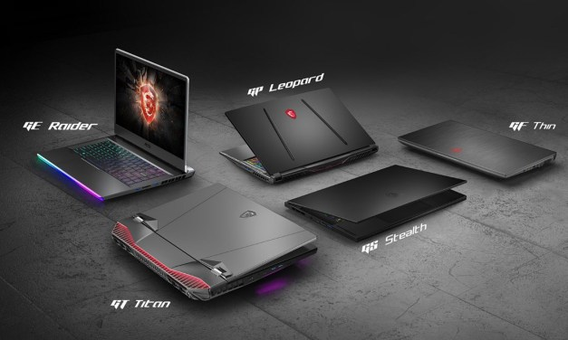 MSI Showcases Flagship Gaming and Creator Laptops at CES 2020