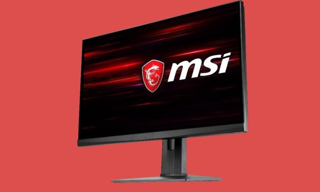 MSI Announces 240Hz Optix MAG251RX eSports Monitor