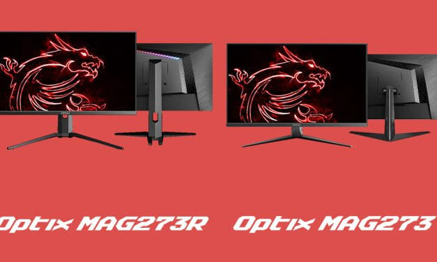MSI Announces Optix MAG273 and MAG273R eSports Ready Monitor
