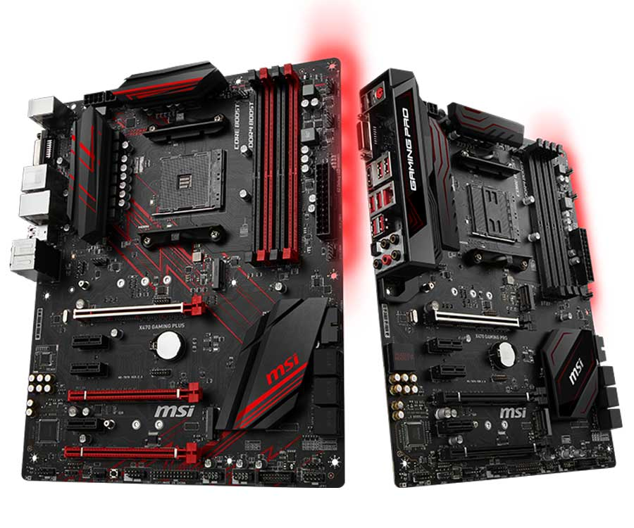 MSI AM4 X470 GAMING Motherboards Released   TechPorn
