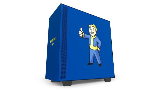 NZXT Releases CRFT H500 Vault Boy Chassis