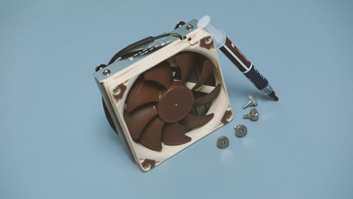 Noctua NH-L9i Low Profile CPU Cooler (6)