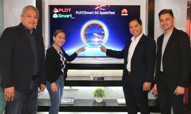 PLDT-Smart Reaches Record Breaking 14Gbps Speed on 5G