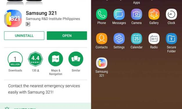 SAMSUNG 321 Emergency App Now Available at Play Store