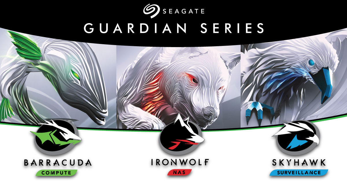 Seagate Announces 12TB Guardian Drives For NAS and Desktop
