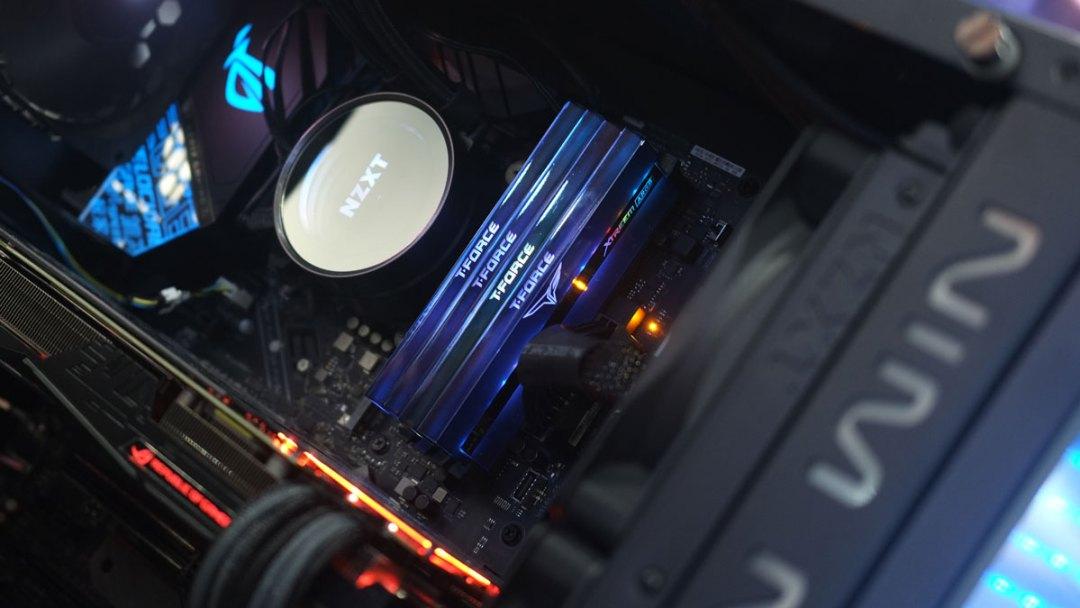 T-FORCE RGB RAM SSD Computex 2019 (2)