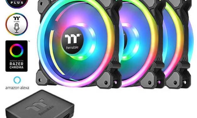 Thermaltake Releases First Amazon Alexa Supported Fan