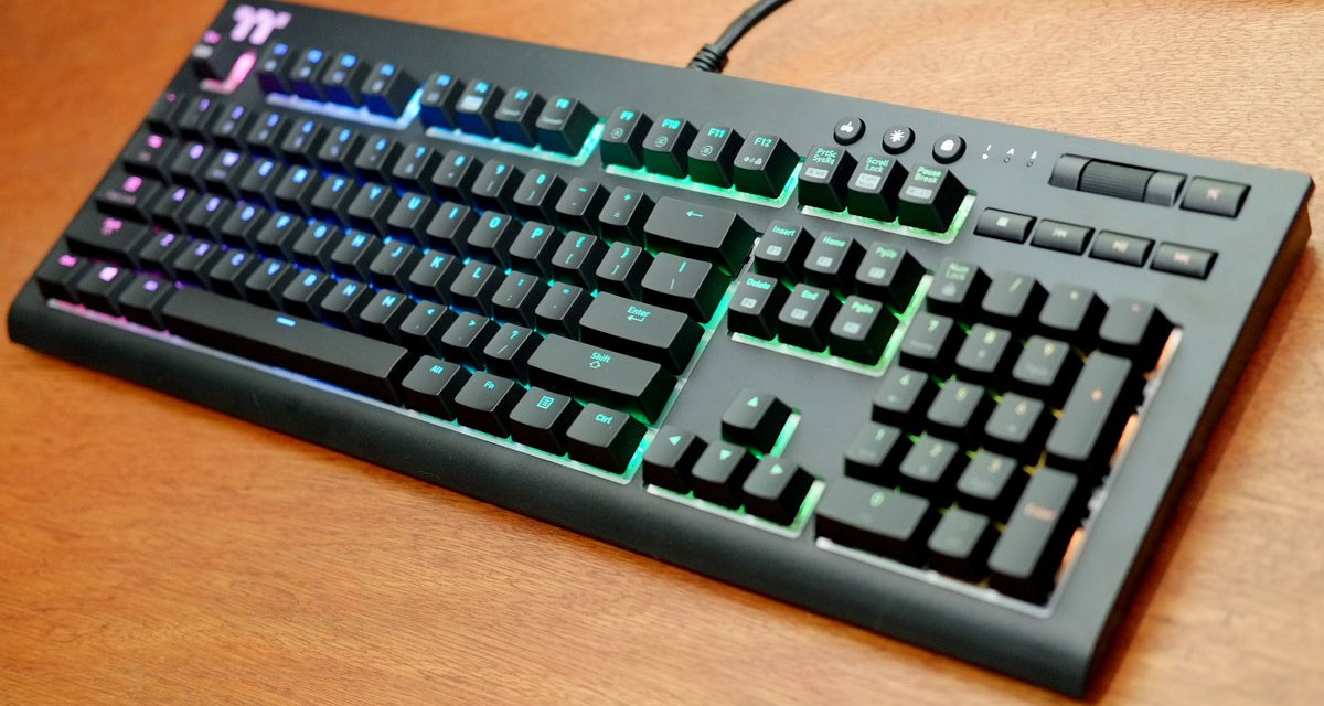 Review | TT Premium X1 RGB Mechanical Gaming Keyboard