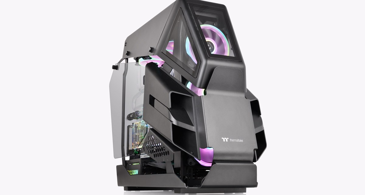Thermaltake Reveals AH T600 Full Tower Chassis